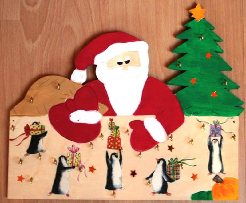Adventskalender Pinguine