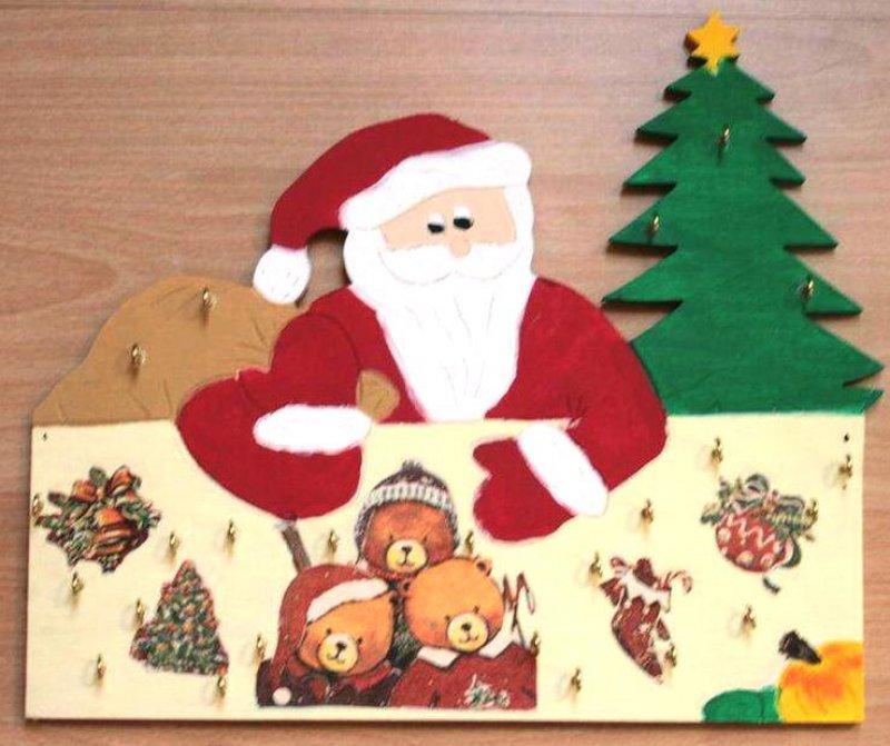 außergewöhnlicher Adventskalender Weihnachts Bären
