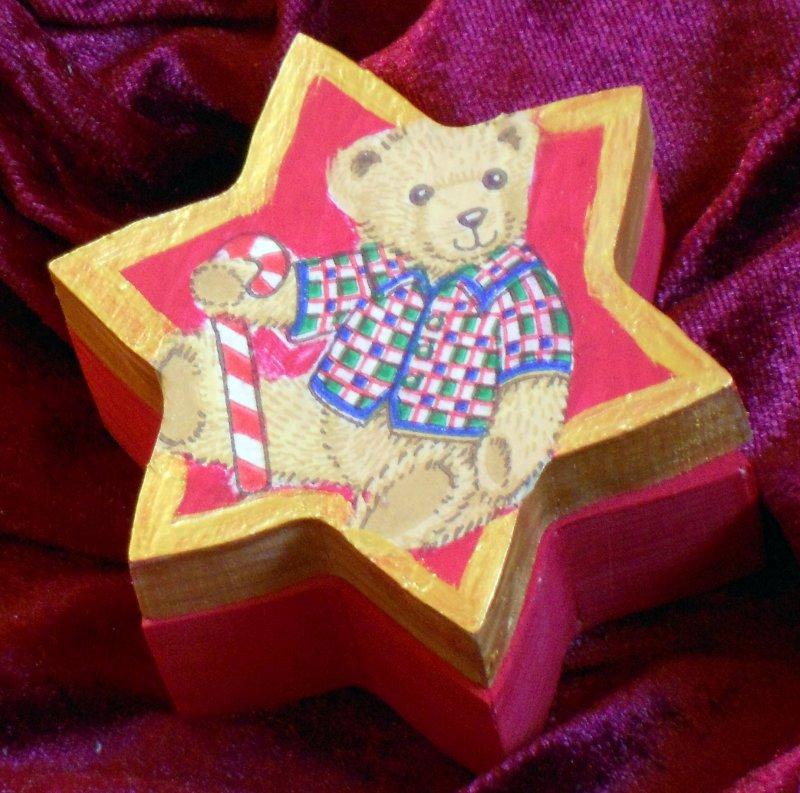 nice star gift box bear