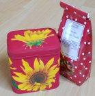 nice tea box sunflowers
