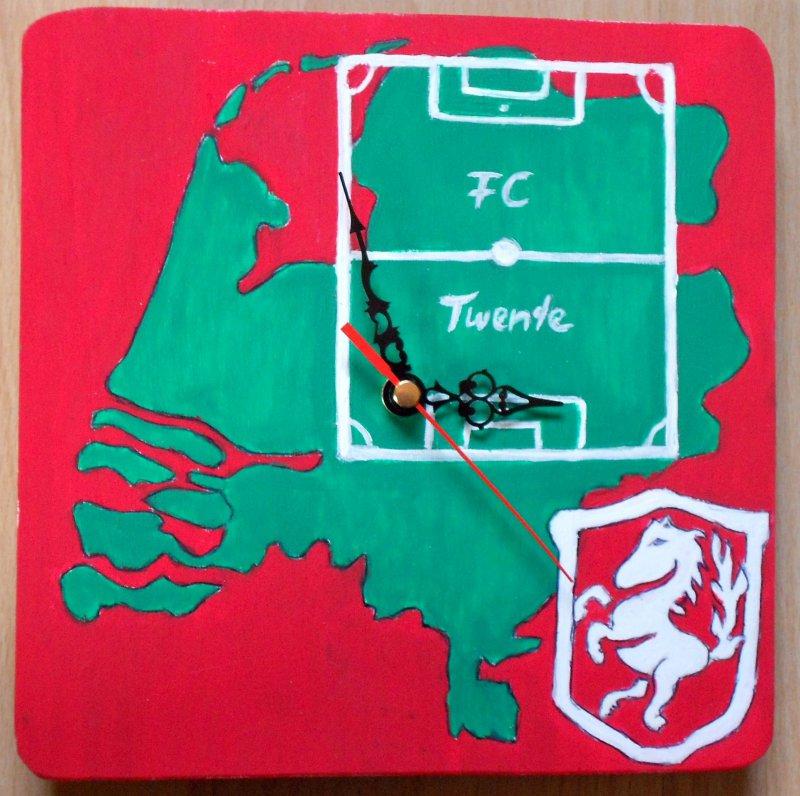 Fussball Wanduhr Holland - Twente
