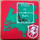 Fussball Wanduhr Holland - Twente