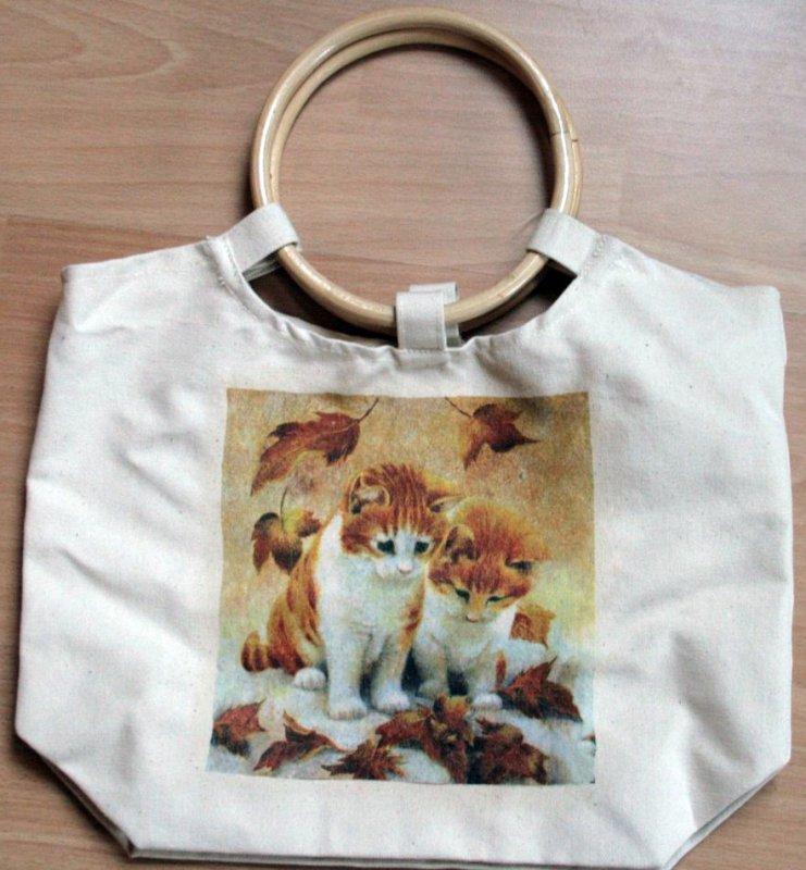 cute shopper autumn cats