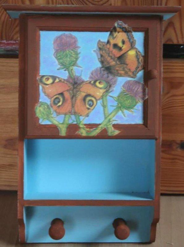 nice cabinet butterflies
