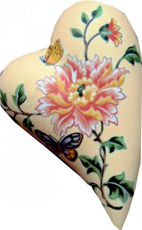 exotischer Herz Heizungsluftbefeuchter Blumen