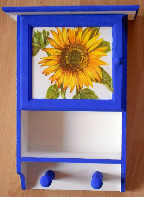 nice floral cabinet sunflower