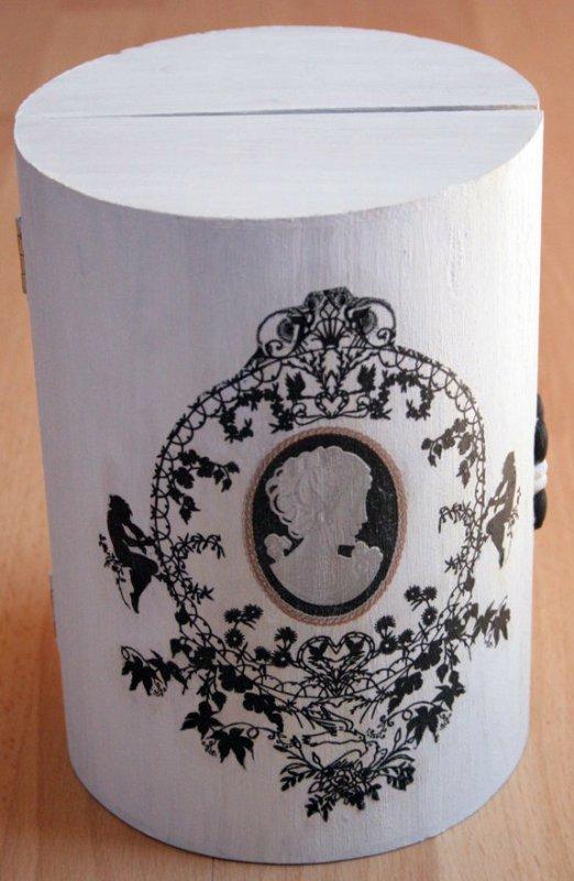 romantic and elegant jewelery case kamee
