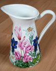 wonderful emaille mug alpine flowers