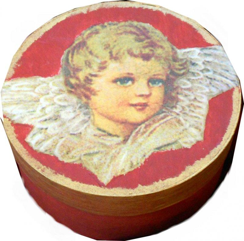 elegante Geschenkdose Engel
