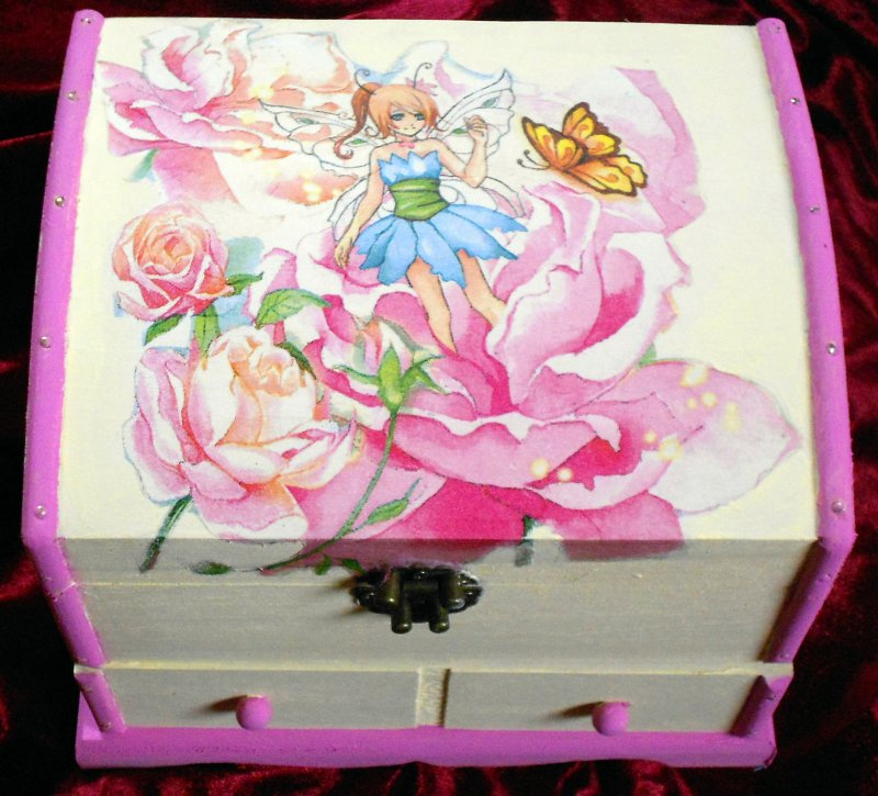 cute jewerly case for girls elf