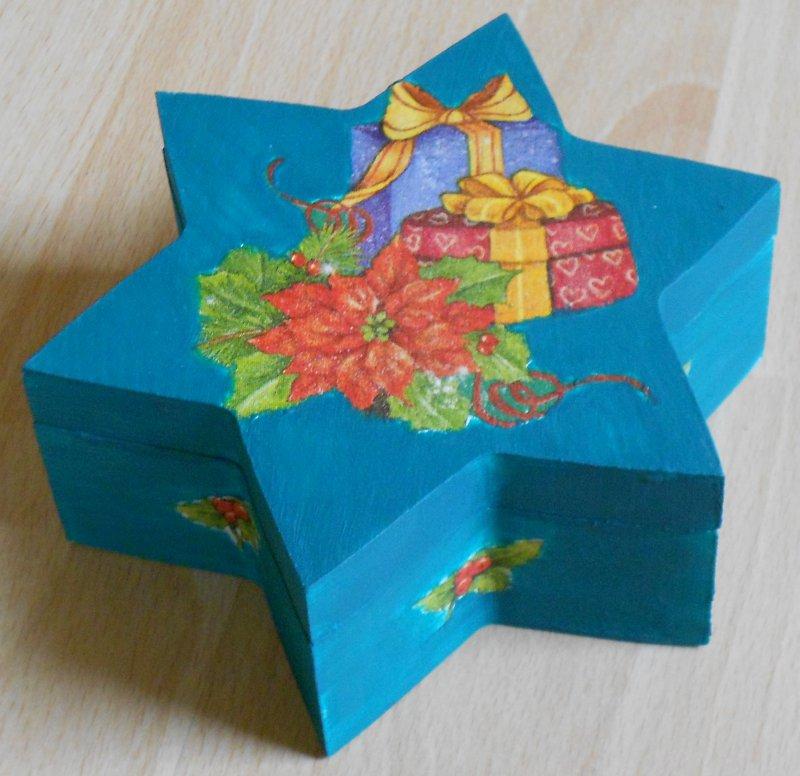 nice star gift box christmas gift