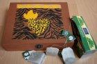 ethno tea bag box heart of africa