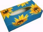 wunderschöne Kosmetiktuchbox Sonnenblumen