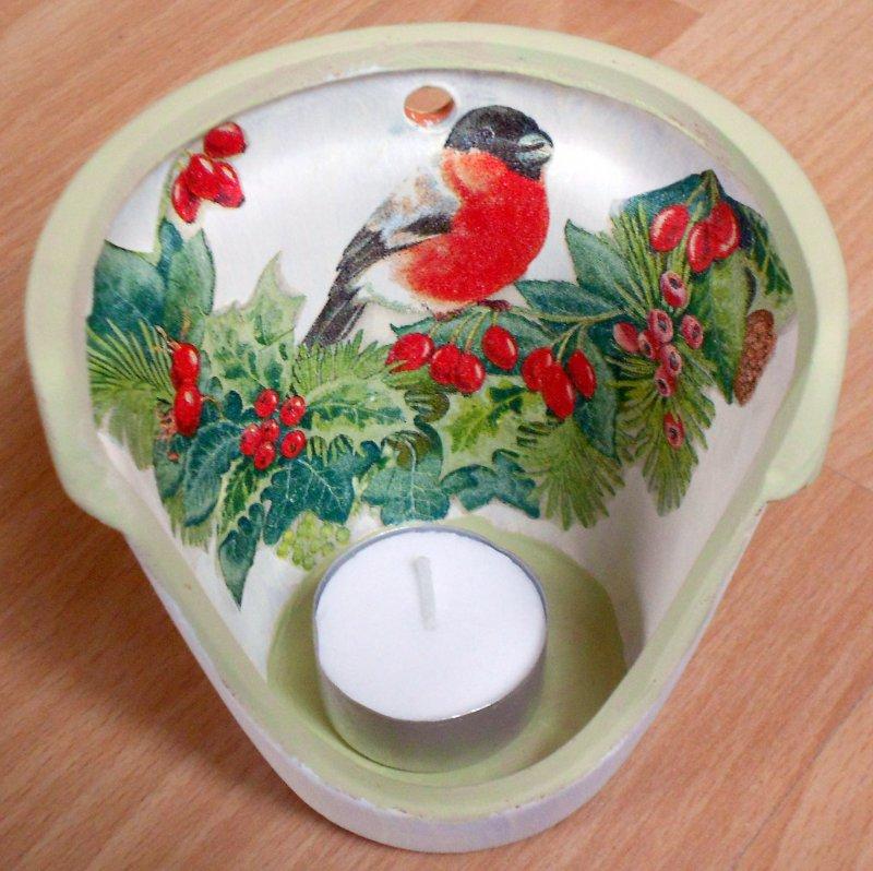 wonderful tealight holder bulfinch