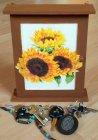wunderschöner Schlüsselkasten Sonnenblumen