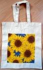 kleine Baumwolltasche leuchtende Sonnenblumen