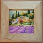Keilrahmenbild Provence - Lavendelfelder