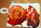 hübsches Schlüsseltäschchen romantische Rosen