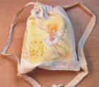 niedlicher Mädchenrucksack kleine Elfe mit Blumen
