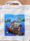 Baumwolltasche coole Piraten auf hoher See