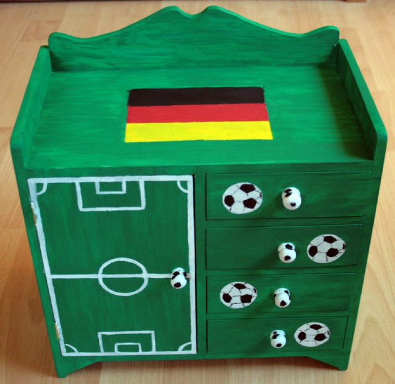 great drawer cabinet football