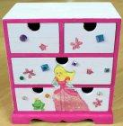 süßes Schubladenschränkchen kleine Prinzessin