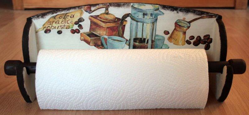 elegant kitchen towel holder Café arabica