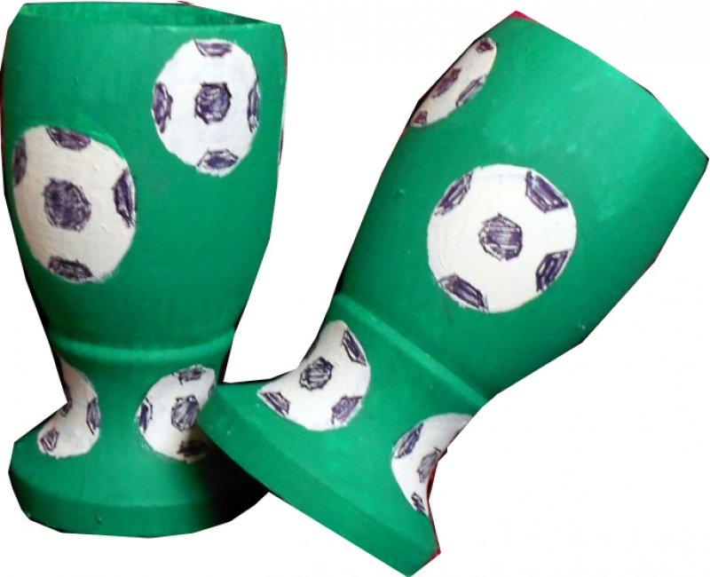 originelle Eierbecher Fußball