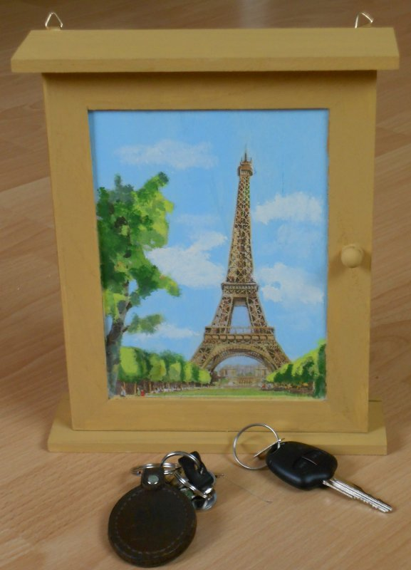 small key cabinet paris tour effel
