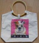 lustiger Hunde Shopper Fashion Dog