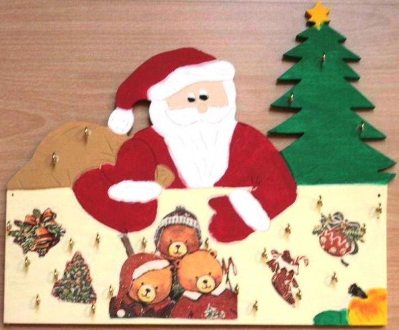 niedlicher Adventskalender nostalgische Bären