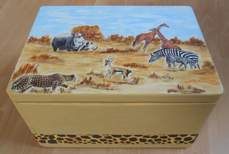 cool chest Africa Animals