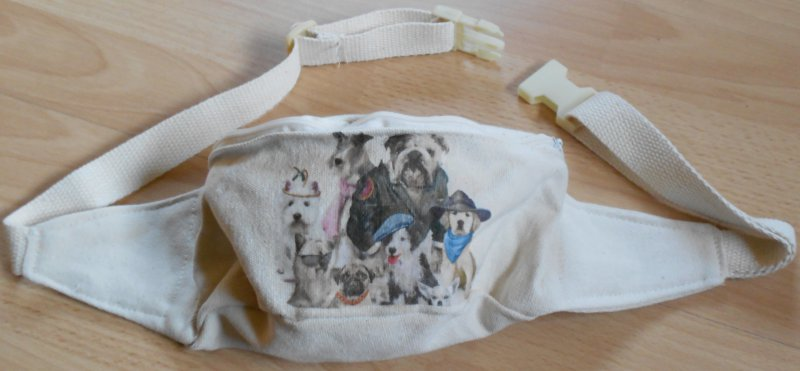 funny bum bag dogs