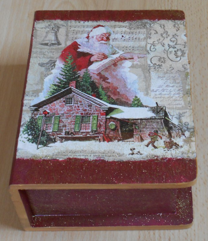 wonderful christmas box santa clause