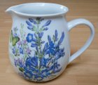 romantic porcelain mug beautiful delphinium