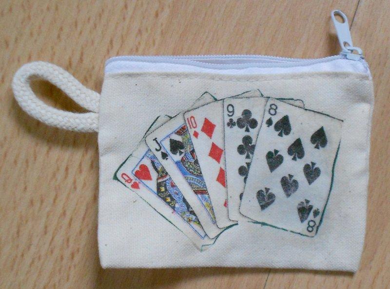 nice animal case for keys poker cards