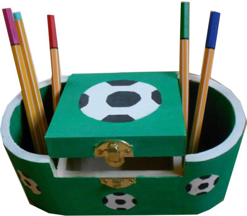 Fußball Stifte - bzw. Utensilobox