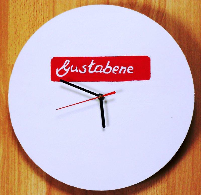 nice kitchen wall clock Gustabene