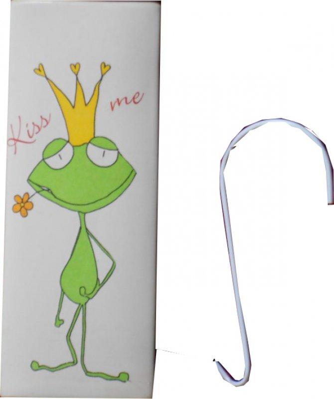 lustiger Heizungsluftbefeuchter Frosch mit Krone