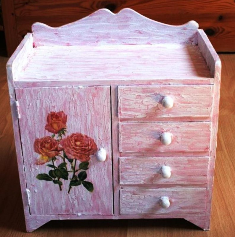 great drawer cabinet romantic roses