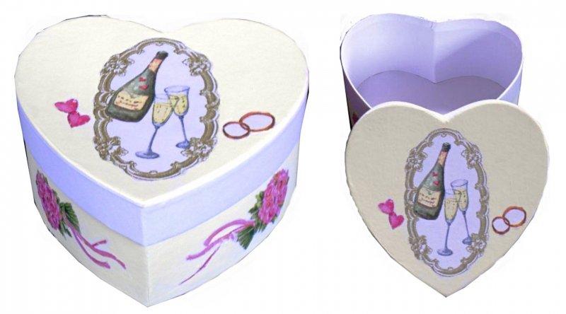 Herz Ringschachtel Hochzeit Accessoires und Rosen