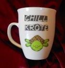 Lustige Porzellan Kaffeebecher Chillkröte