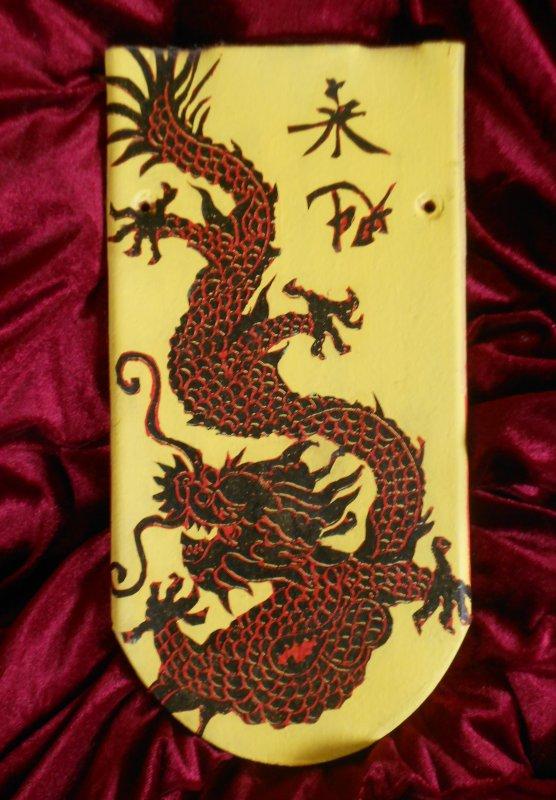 wonderful decoration brick with chinese dragon