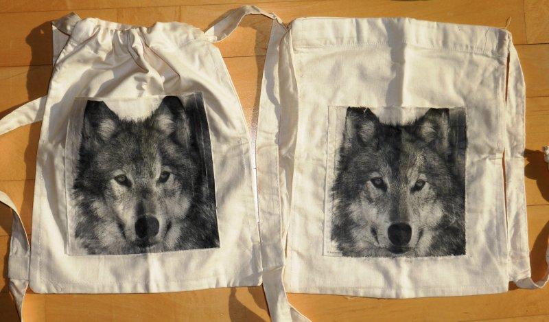 Toller Rucksack / Kinderrucksack Wolf