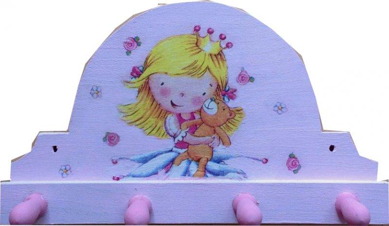 Kindergarderobe kleine Prinzessin