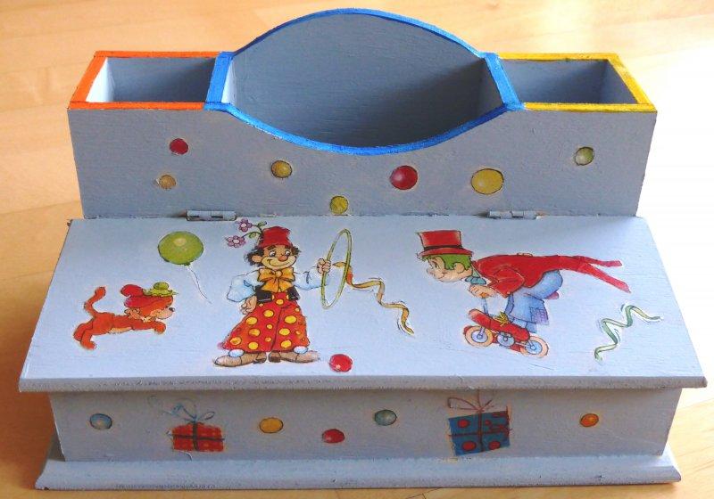 Cool Clown Pencil Box