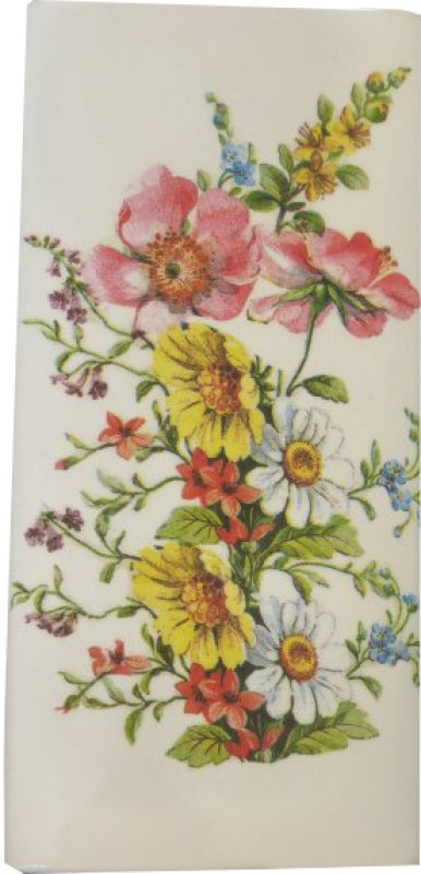 floraler Heizungsluftbefeuchter / Wandvase Sommerblumen