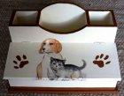 Utensilo - / Stiftebox tierische Freunde - Hund und Katze