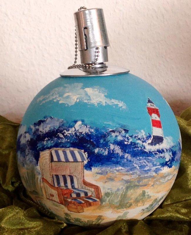 "Kugelfackel Leuchtturm ""roter Sand"""