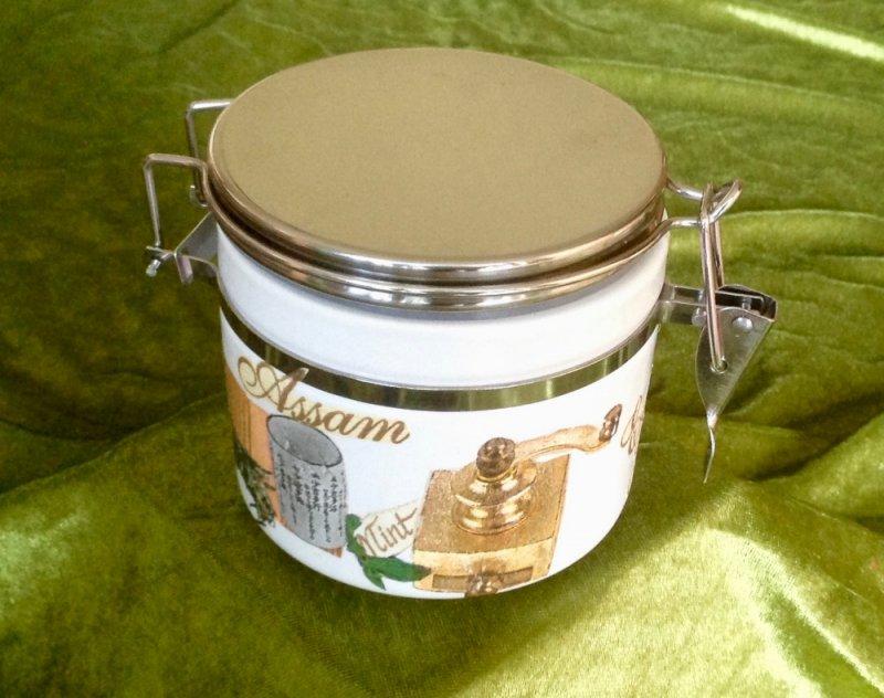 Tee Keramik Vorratsdose Assam